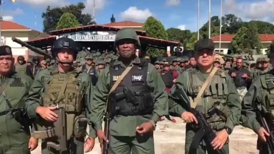 Comandante del ejército de Venezuela