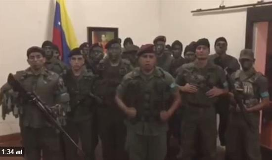 Asalto a cuartel militar venezolano en Valencia