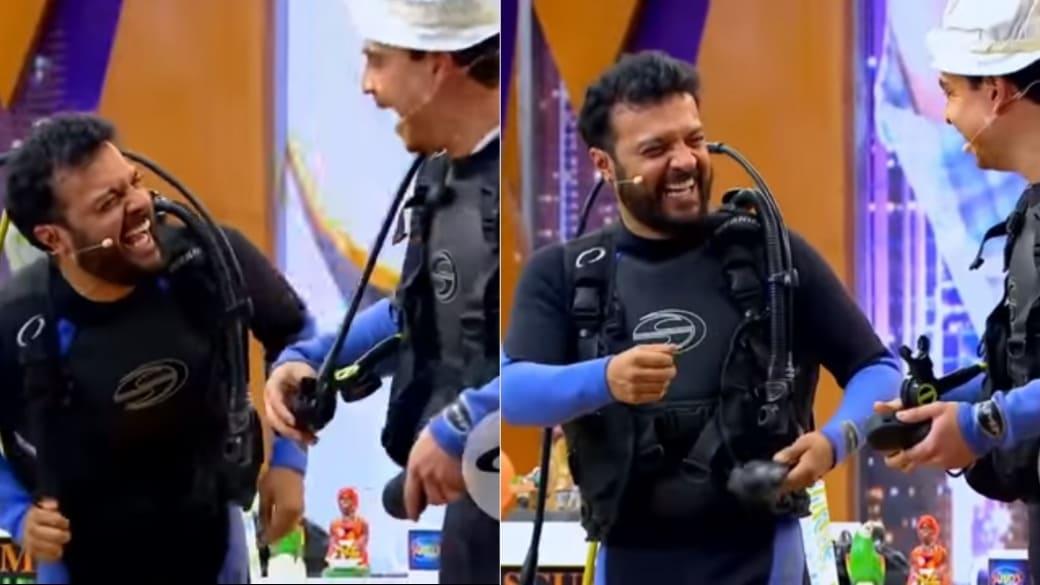 Julián Román, actor, y Suso, humorista.