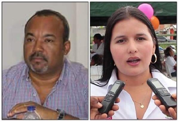 Julio César Rivera y Carolina Farinango