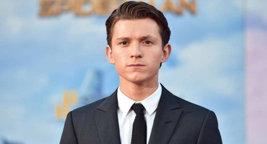 Tom Holland en estreno de 'Spider-Man: Homecoming'. Pulzo.