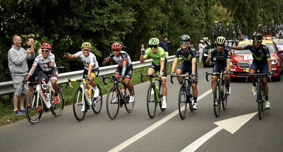 Colombianos en el Tour de Francia