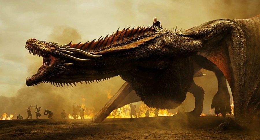Daenerys y Drogon. Pulzo.