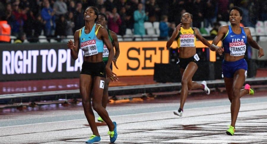 Final 400 mts femeninos