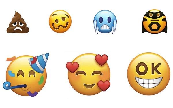 Emoticones Unicode 2018