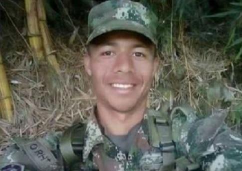 Soldado profesional José Miguel Anaya Cogollo