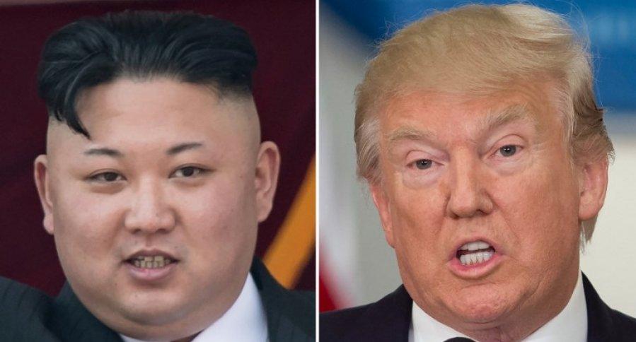 El líder de Corea del Norte, Kim Jong-un, y el presidente de Estados Unidos, Donald Trump. Pulzo.
