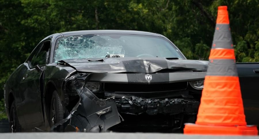 Carro de atentado en Charlottesville