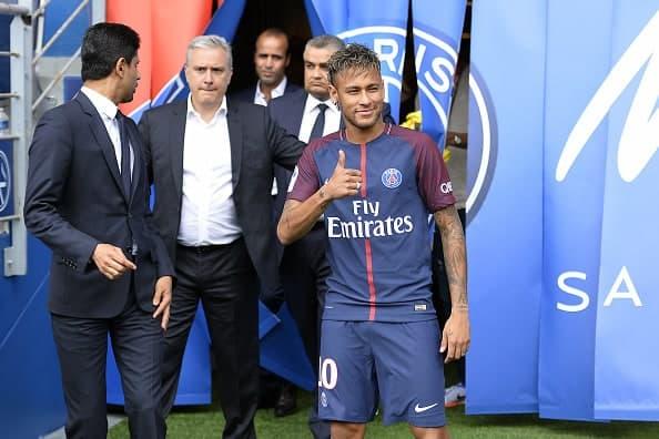 Neymar debuta en el PSG