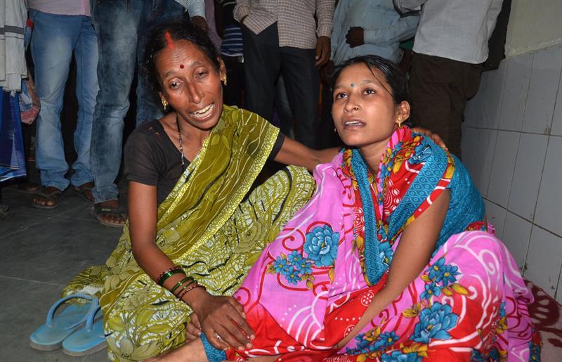 Niños muriendo en la India