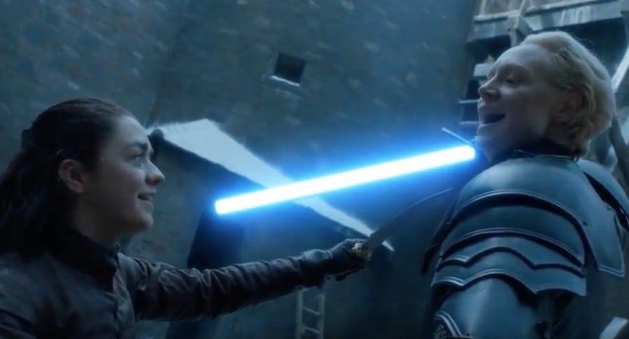 Arya y Brienne. Pulzo.
