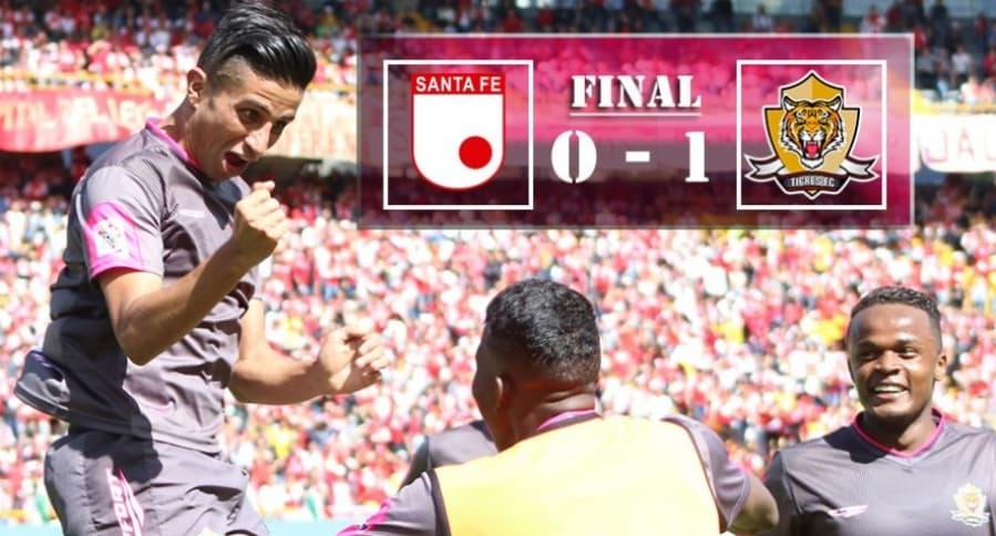 Tigres 1-0 Santa Fe