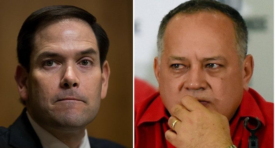 Marco Rubio y Dosdado Cabello