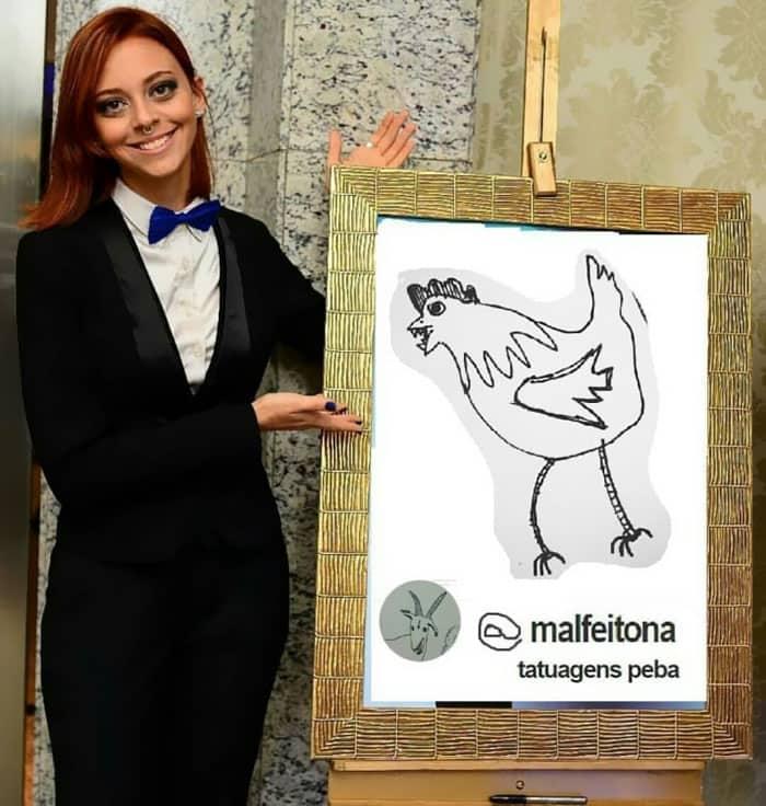 Tatuadora Helena Fernandes. Pulzo.