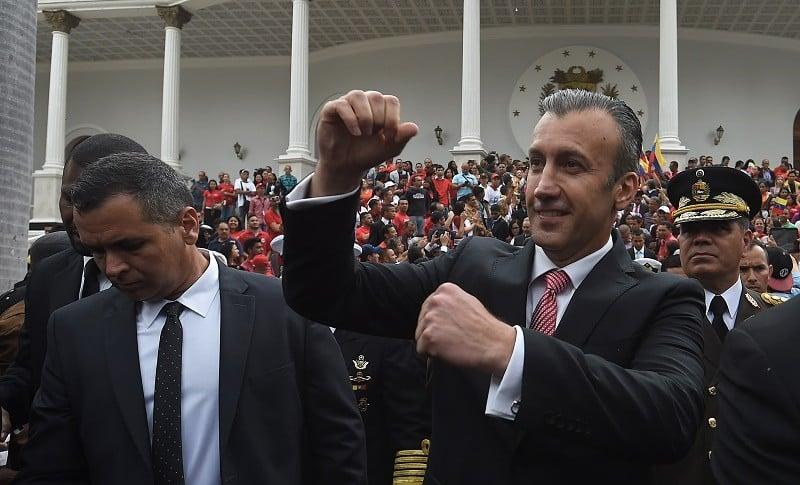 Vicepresidente de Venezuela, Tareck El Aissami, en julio pasado