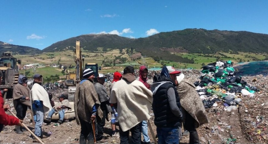 Protestas en barrio Mochuelo