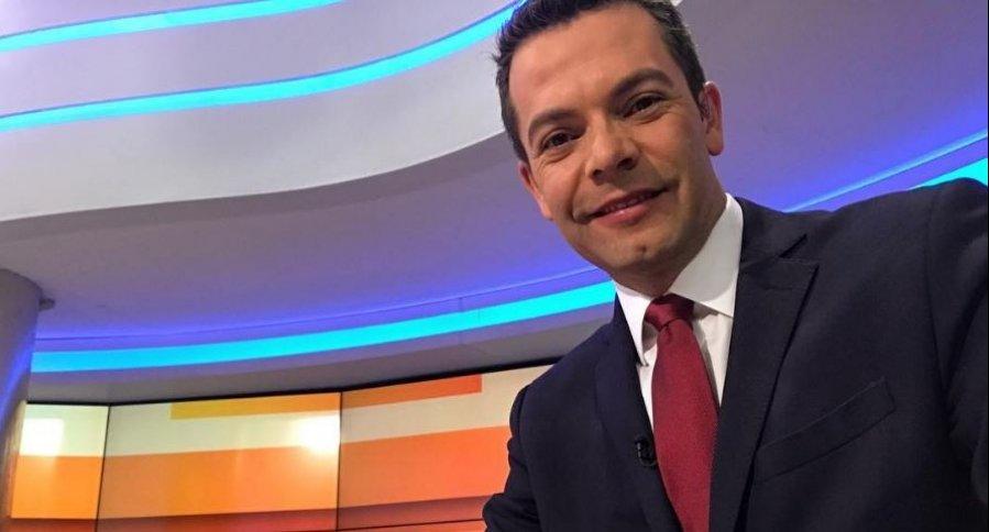Iván Lalinde, presentador.
