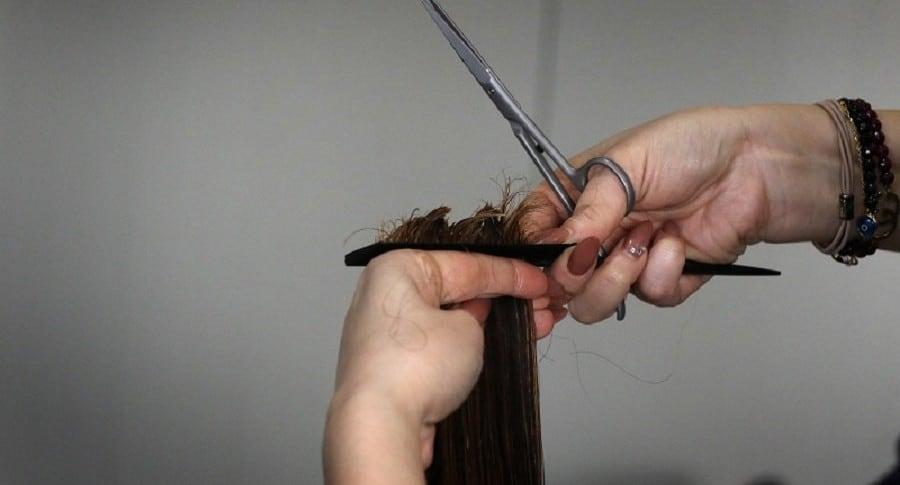 peluquería, corte cabello, tijeras