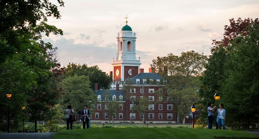 Campus de la Universidad de Harvard