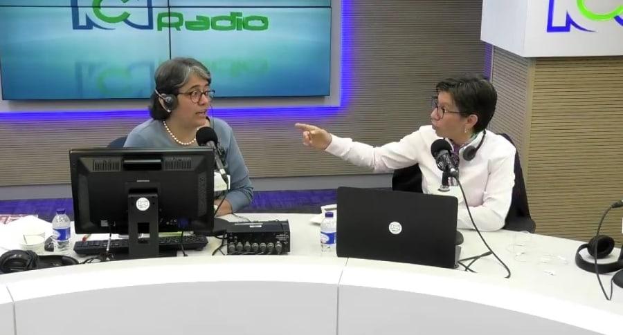 Claudia López en RCN Radio