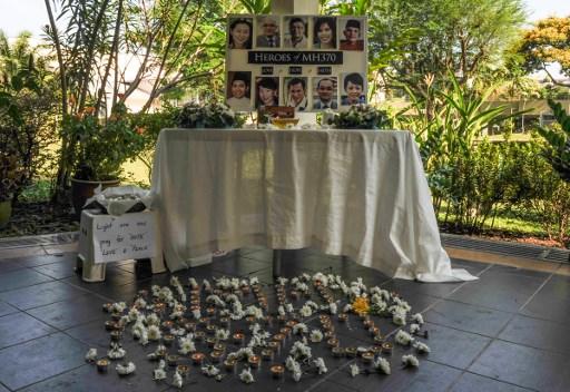 Homenaje a la tripulación del vuelo desaparecido de Malaysia Airlines