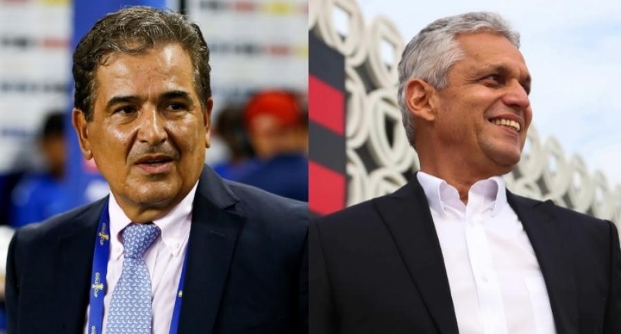 Jorge Luis Pinto y Reinaldo Rueda