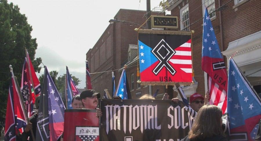 Manifestación neonazi en Charlottesville