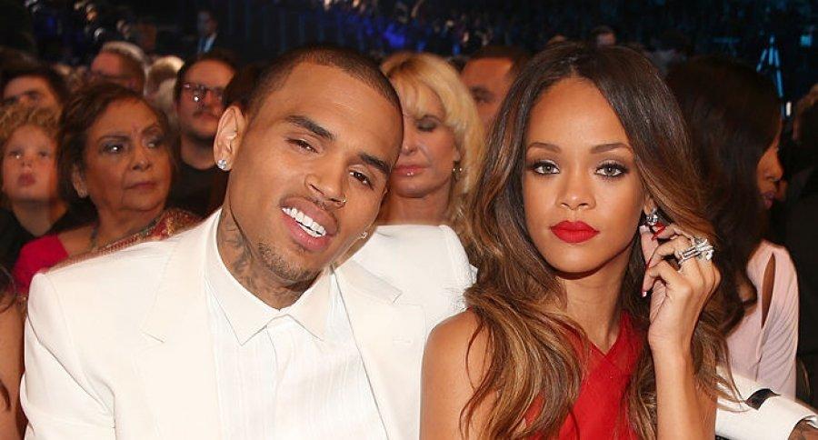 Chris Brown y Rihanna