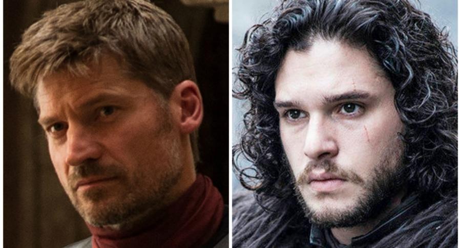 Jaime Lannister y Jon Snow. Pulzo.