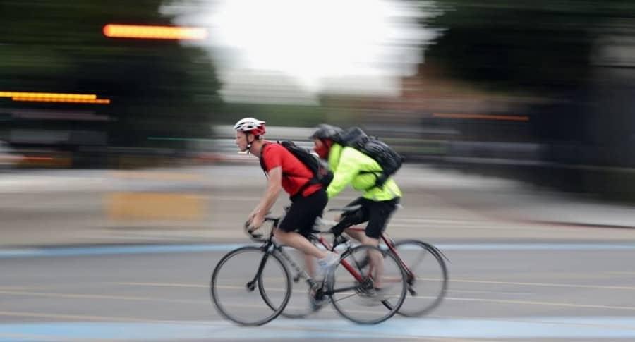 Accidente en bicicleta