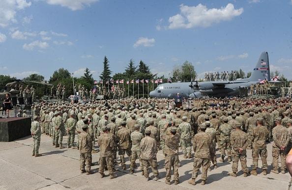 Ejército de Estados Unidos en Georgia