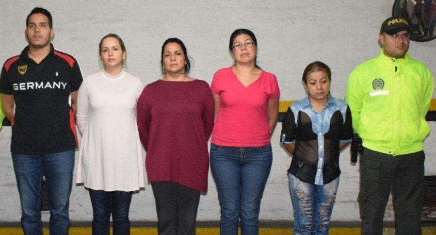 Personas capturadas