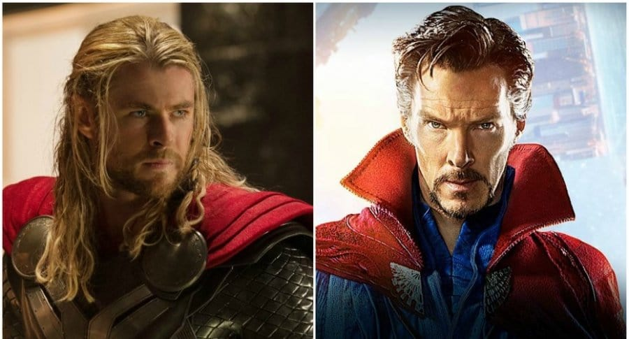 Thor y Dr. Strange.