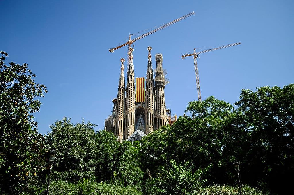 Catedral de la Sagrada Familia, en Barcelona