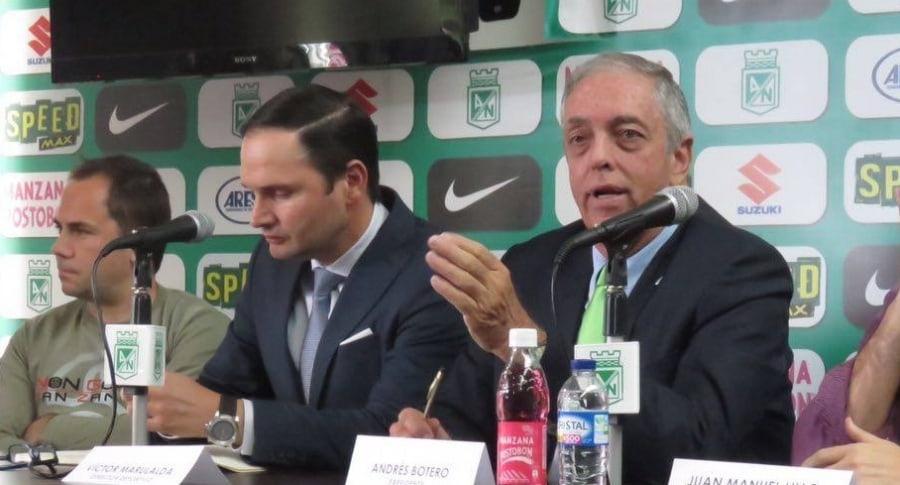 Directivos de Atlético Nacional