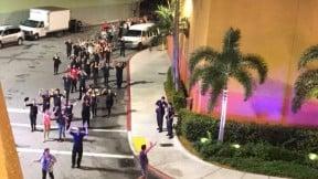 Evacuación en el Dolphin Mall