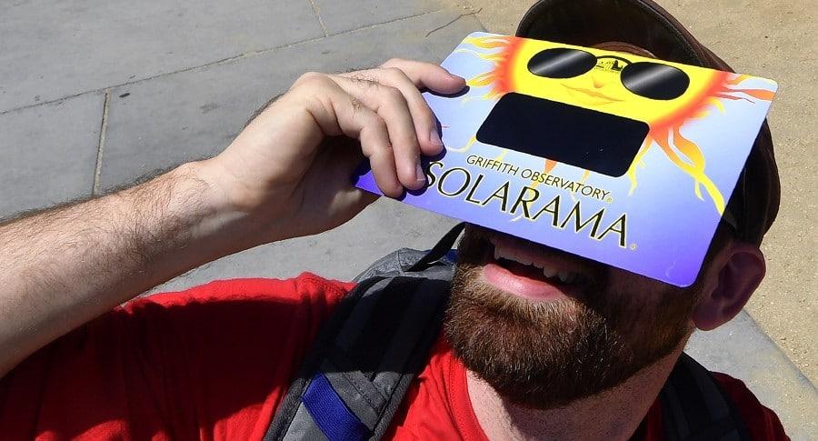 Filtros especiales para ver el eclipse solar