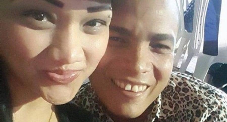 Fania Paba Vergara y su novio Ismael de Alba