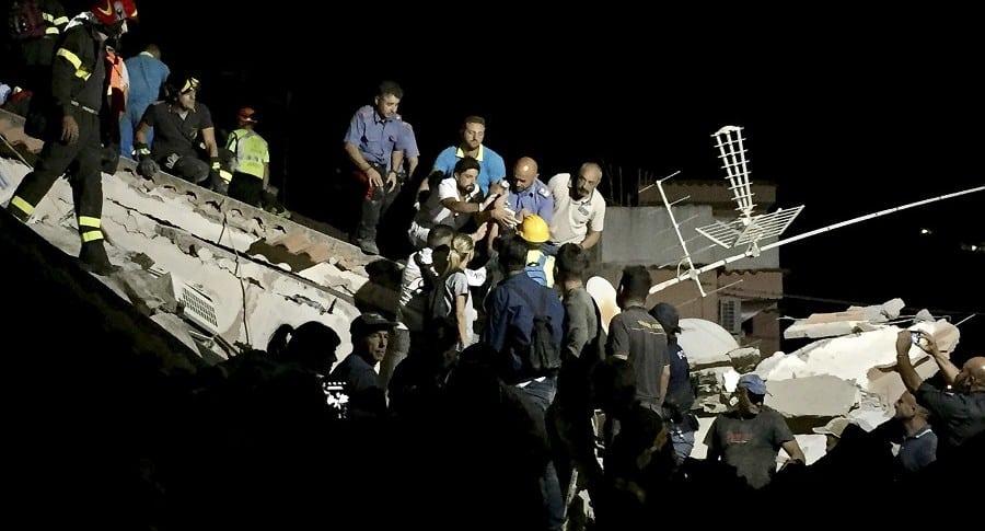terremoto en Ischia, Italia