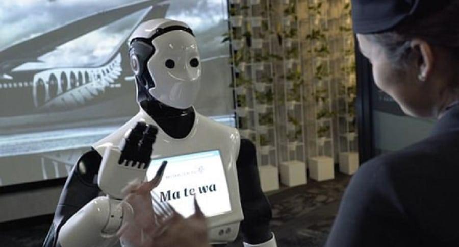 Robot de Air New Zealand