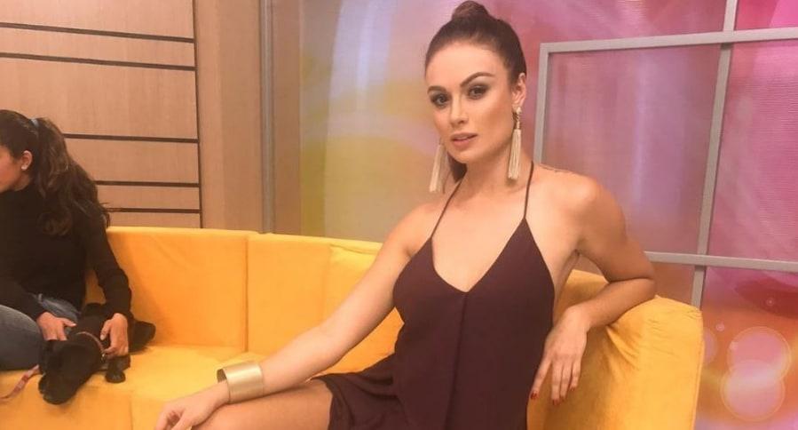 Sara Uribe, presentadora y locutora.