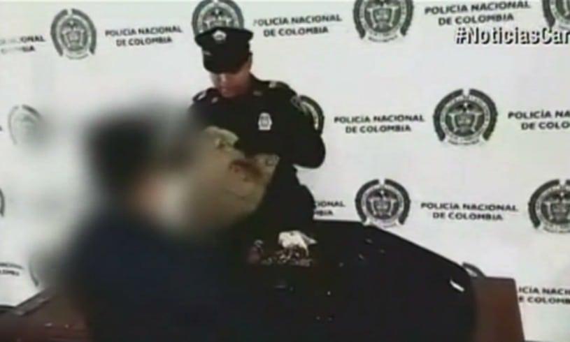 Mujer capturada por tráfico de drogas en Bogotá. Pulzo.