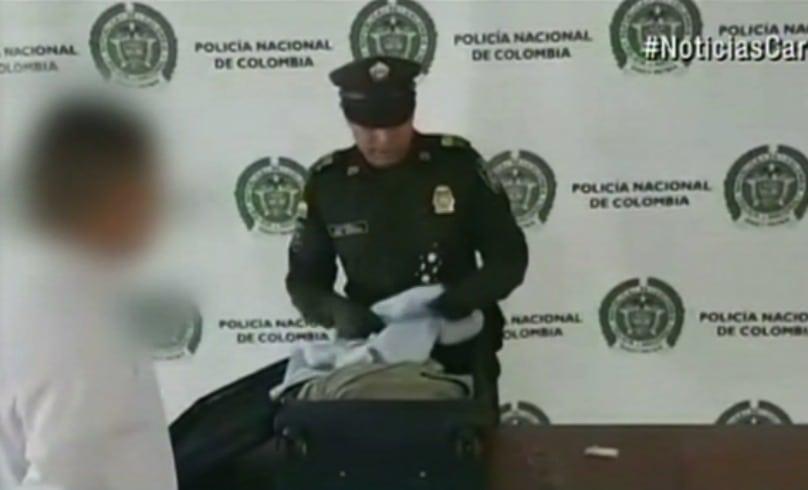 Joven detenido por tráfico de drogas en Bogotá. Pulzo.