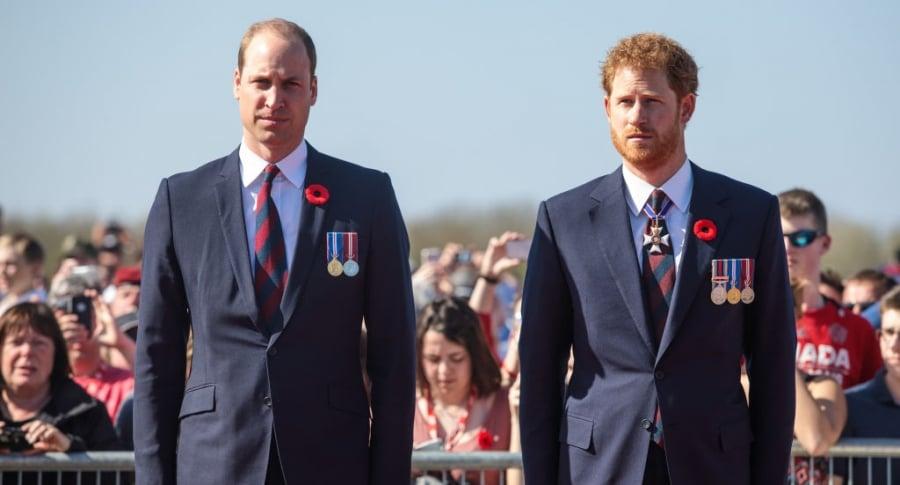 Príncipes William y Harry
