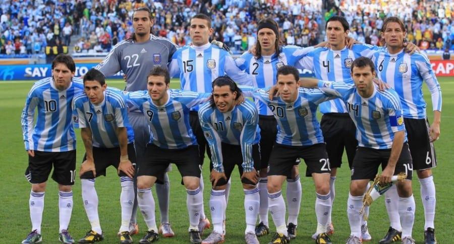 Selección Argentina, Mundial 2010