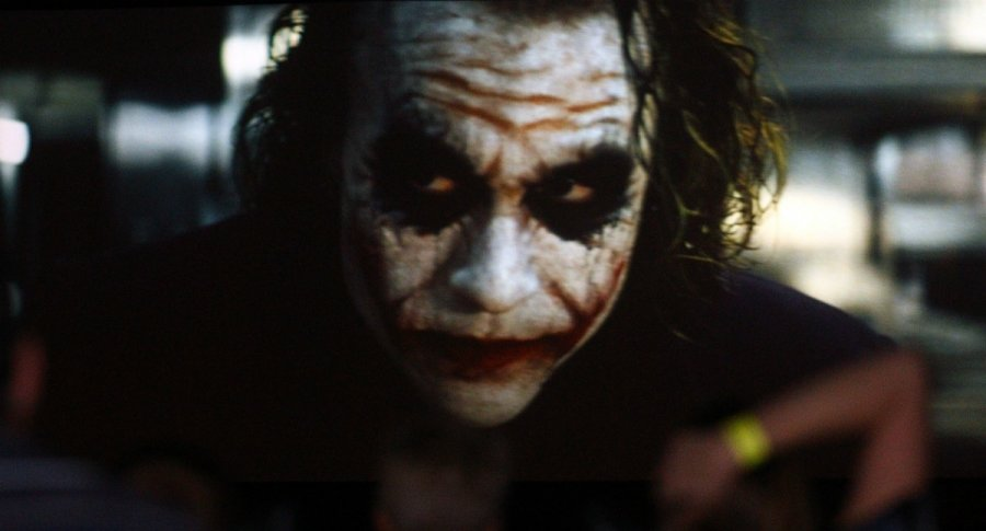 Heath Ledger en 'The Dark Night' (2008)