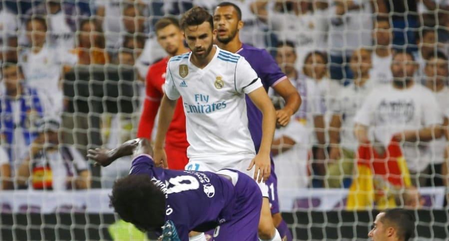 Carlos Sánchez vs. Real Madrid