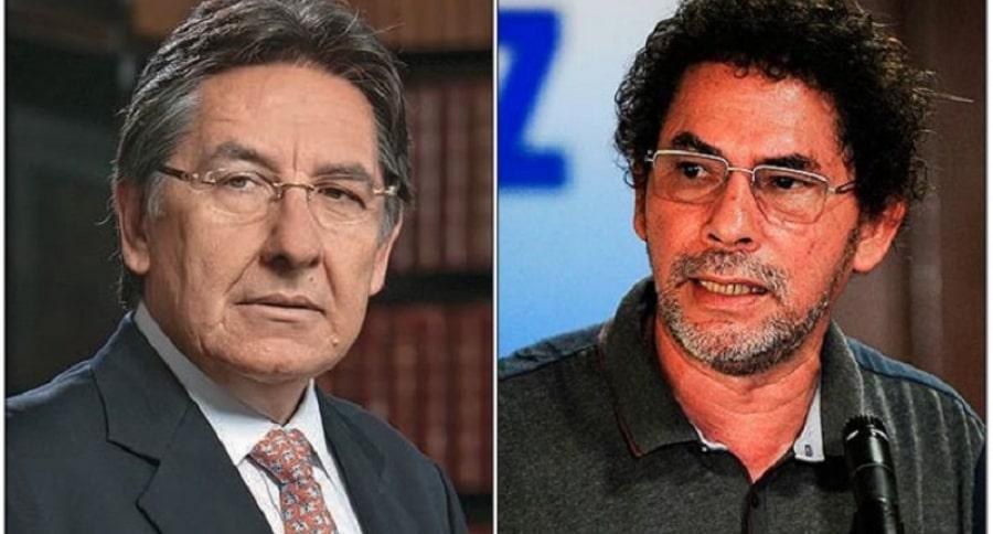 Néstor H. Martínez y 'Pastor Alape'