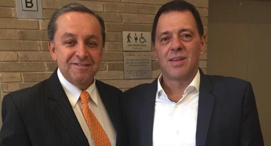 Esteban Jaramillo y Tulio Gómez