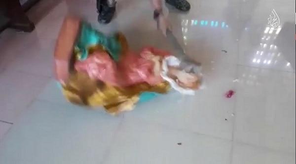 Terroristas en la Catedral de Marawi